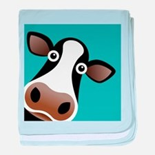 Moo Cow! baby blanket