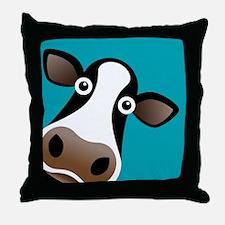 Moo Cow! Throw Pillow