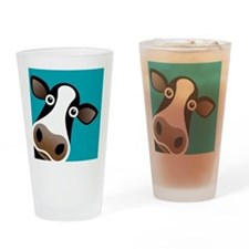 Moo Cow! Drinking Glass