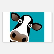 Moo Cow! Sticker (Rectangle)
