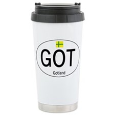 Car code Gotland Travel Mug