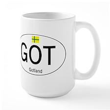 Car code Gotland Mug
