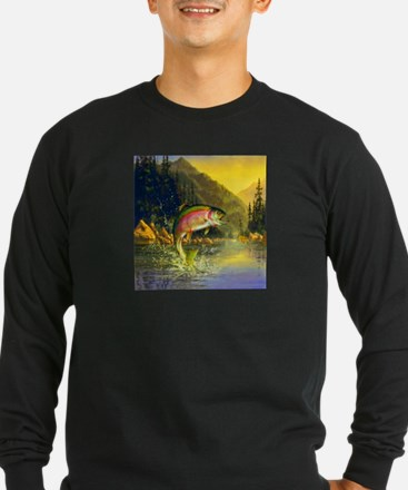 Rainbow Trout Jumping T