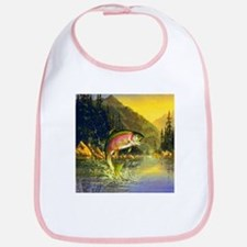 Rainbow Trout Jumping Bib