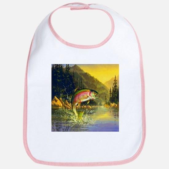 Rainbow Trout Jumping Bib