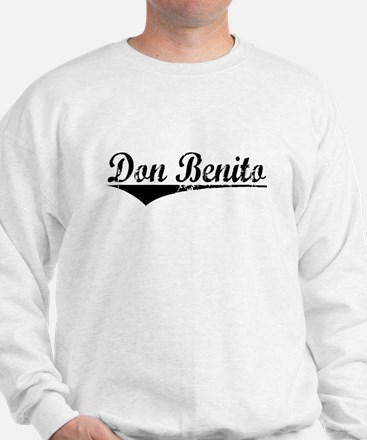 Don Benito, Aged, Sweatshirt