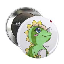 "Dragon Love 2.25"" Button"