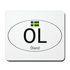 Car code Island land Mousepad