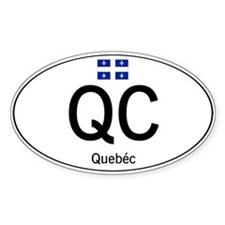 Car code Quebec Decal