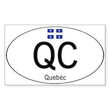 Car code Quebec Decal