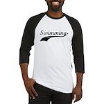 Retro Swimming Baseball Jersey