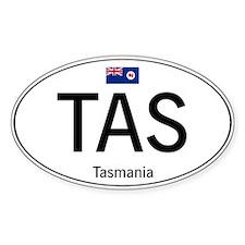 Car code Tasmania Decal