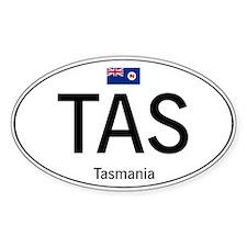 Car code Tasmania Stickers