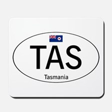 Car code Tasmania Mousepad