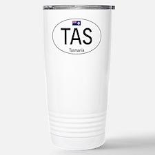 Car code Tasmania Travel Mug