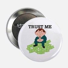 """Cute Investment banker 2.25"""" Button (10 pack)"""