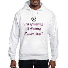 Future Soccer Star - Pink Hoodie