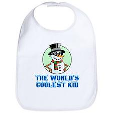The Worlds Coolest Kid Bib