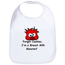 Breast Milk Monster Bib