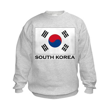 Flag of South Korea Kids Sweatshirt