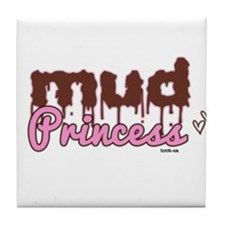 Mud princess Tile Coaster