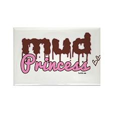 Mud princess Rectangle Magnet