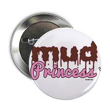 """Mud princess 2.25"""" Button"""