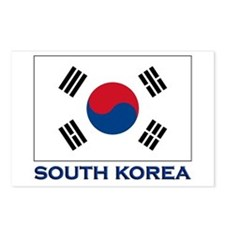 South Korea Flag Stuff Postcards (Package of 8)