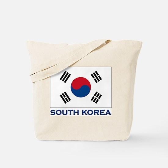 South Korea Flag Stuff Tote Bag