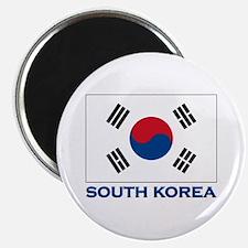 South Korea Flag Stuff Magnet