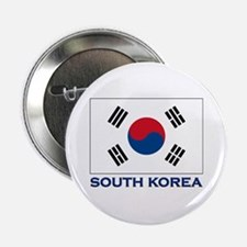 South Korea Flag Stuff Button