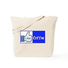 Like Coffee Mug Tote Bag