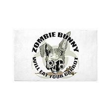 Zombie Bunny 3'x5' Area Rug