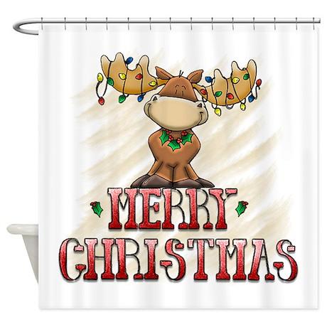 Merry Christmas Reindeer 2556x2592.png Shower Curt