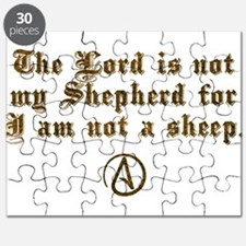 Lord Is NOT My Shepherd Puzzle