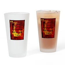 Hot Steamy Drinking Glass