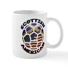 Scottish American Soccer Football Mug