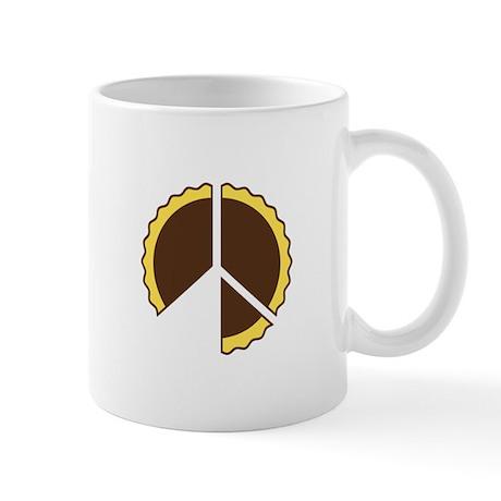 Peace Through Pie Coffee Mug