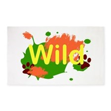 Wild 3'x5' Area Rug