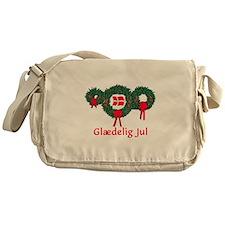 Denmark Christmas 2 Messenger Bag