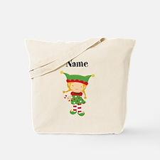 Personalized Girl Elf Tote Bag