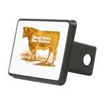 Shoot Cows Rectangular Hitch Cover