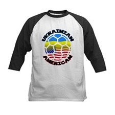 Ukrainian American Football Soccer Tee