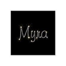"Myra Spark Square Sticker 3"" x 3"""