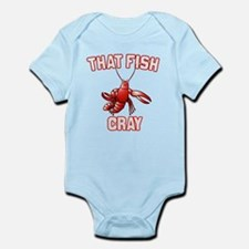 That Fish Cray Infant Bodysuit