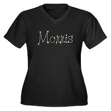 Morris Spark Women's Plus Size V-Neck Dark T-Shirt