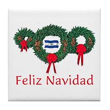 El Salvador Christmas 2 Tile Coaster