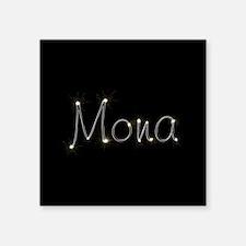 """Mona Spark Square Sticker 3"""" x 3"""""""