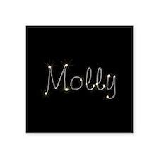 """Molly Spark Square Sticker 3"""" x 3"""""""