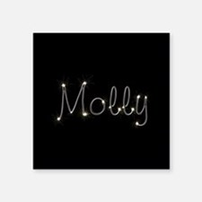 "Molly Spark Square Sticker 3"" x 3"""